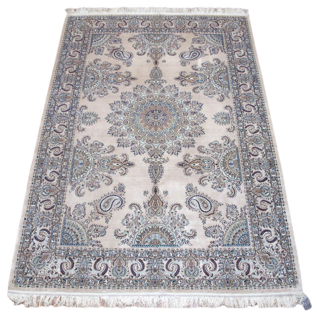 ペルシャ絨毯ナイン・シルク・ハビビアン 247×167cm(FL-418-6)