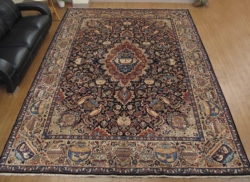 ペルシャ絨毯カシマール ルームサイズ(特大)
