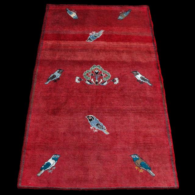 ギャッベ/カシュガイ、絨毯のような細かな織 176×108cm(ALB-4142)