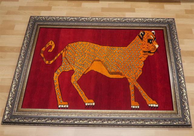 カシュガイ・ギャッベ(ギャベ)、ピクチャー絨毯