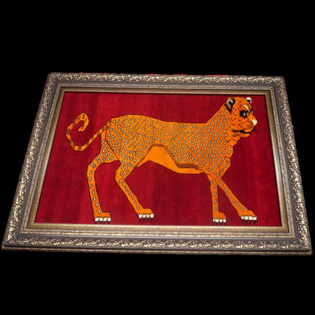 ギャッベ/カシュガイ、絨毯のような細かな織 113×161cm(AMB-4101)