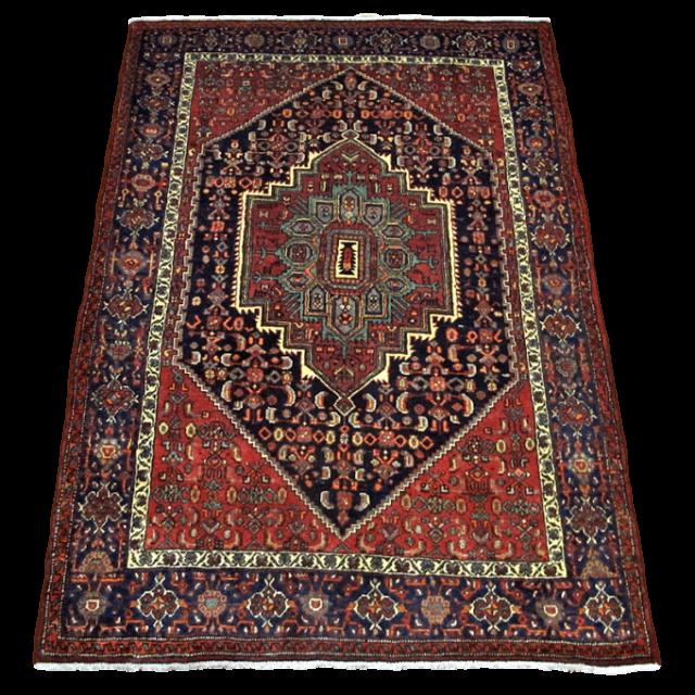 【ふるさと納税】ペルシャ絨毯・ゴルトク 196×132cm(FL-4029)