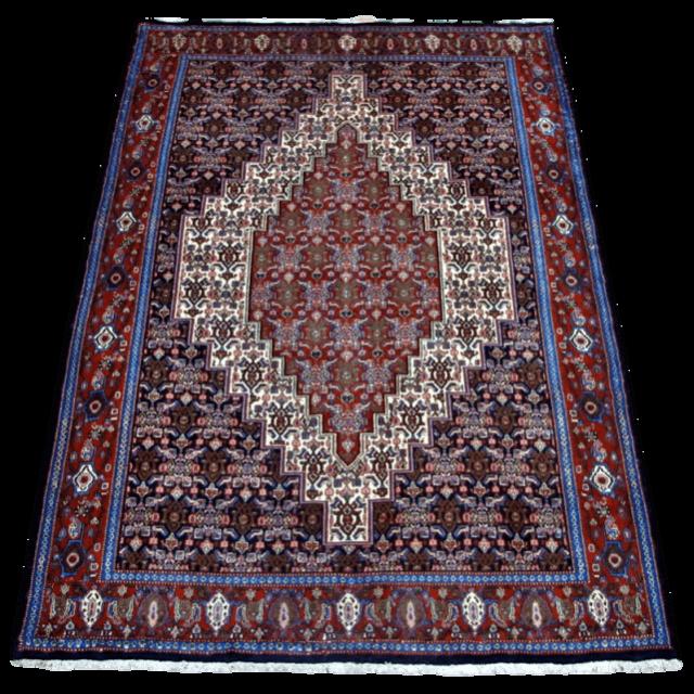 ペルシャ絨毯・サナンダジ 205×140cm(FL-4032)