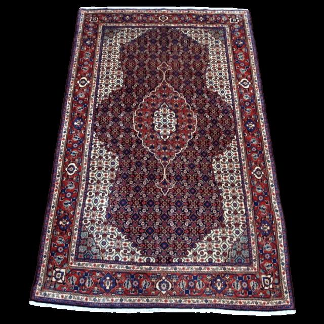 【ふるさと納税】ペルシャ絨毯・サルーク 215×137cm(FL-4034)