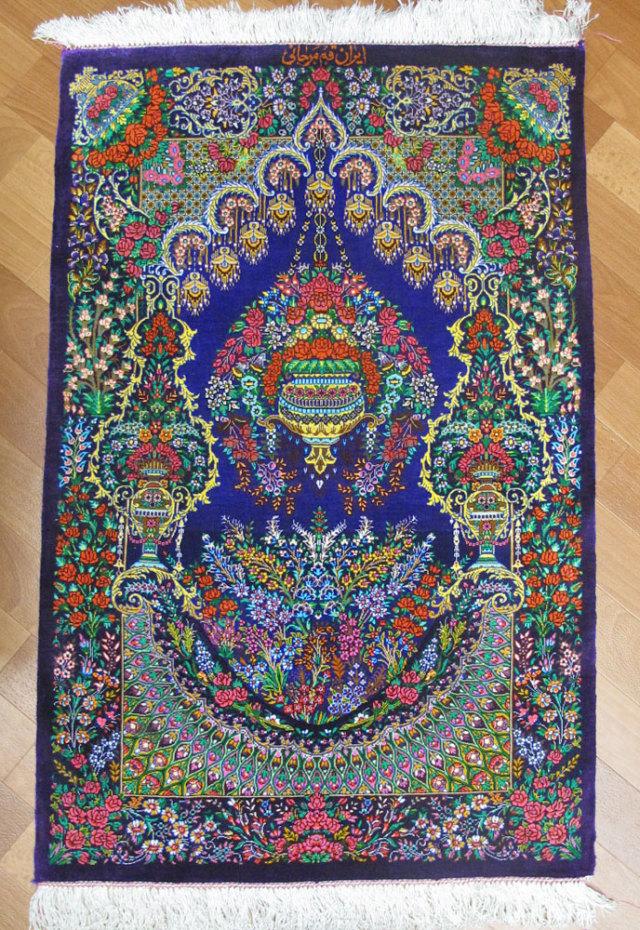 ペルシャ絨毯クムシルク、マルジャーニ