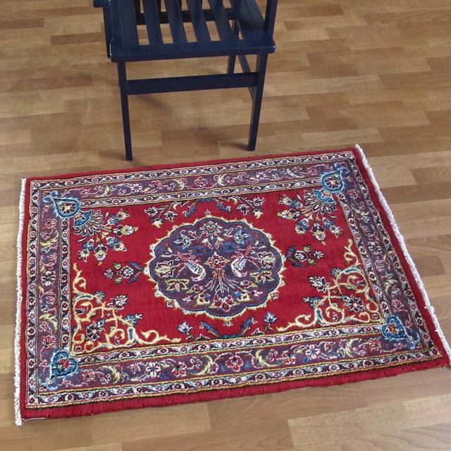 ペルシャ絨毯、玄関マット(小)サイズ
