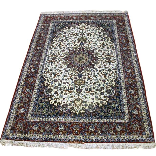 【キャンペーン割】ペルシャ絨毯イスファハン・セーラフィアン 313×210cm(FX-74)