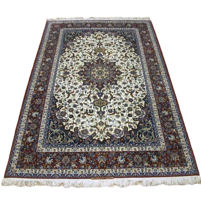 【キャンペーン割】ペルシャ絨毯イスファハン・セーラフィアン 313×210cm(FX-75)