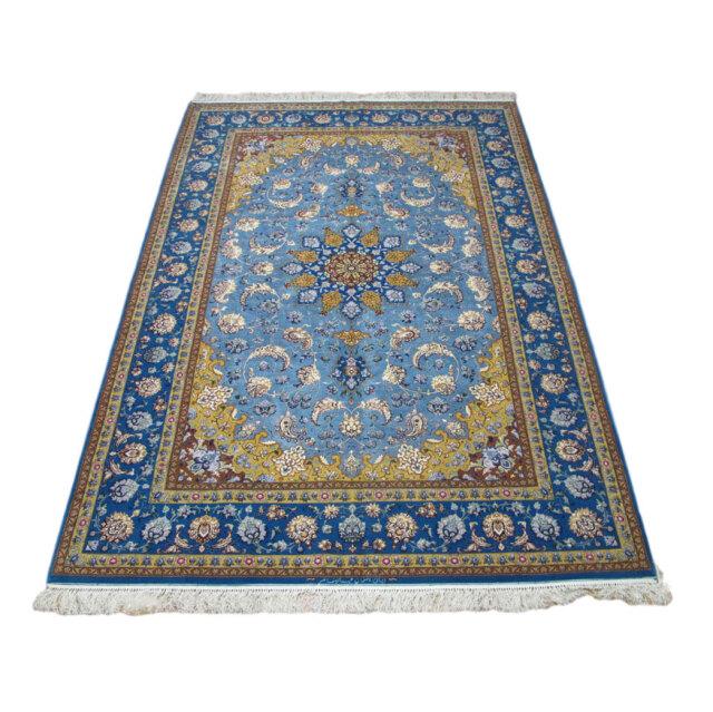 【キャンペーン割】ペルシャ絨毯イスファハン・アブドルレザナッスル 309×202cm(FX-76)
