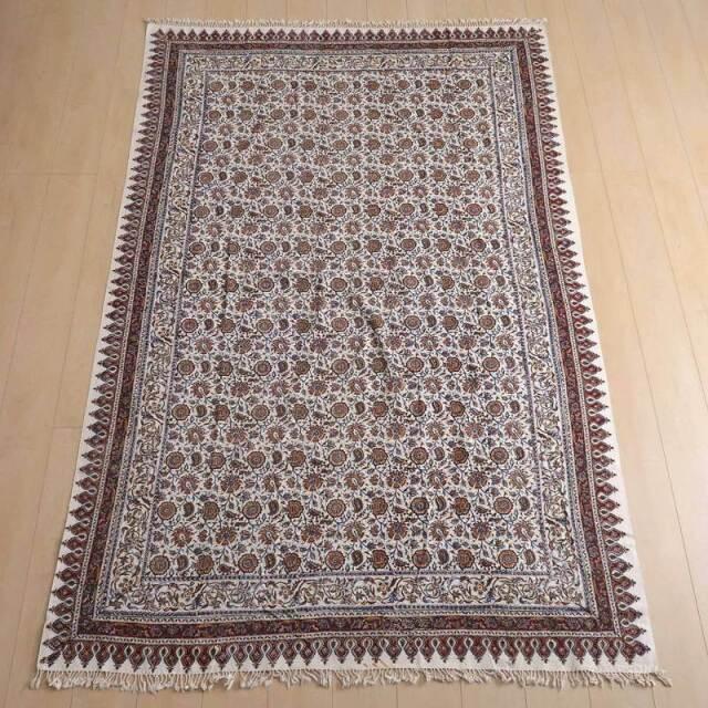ペルシャ更紗布(ガラムカール)