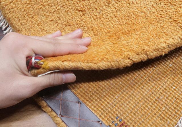 イラン、カシュガイギャッベ座布団サイズ