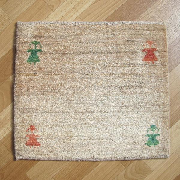 ゾランヴァリ・ギャッベ(ギャベ)シェカルー、座布団サイズ