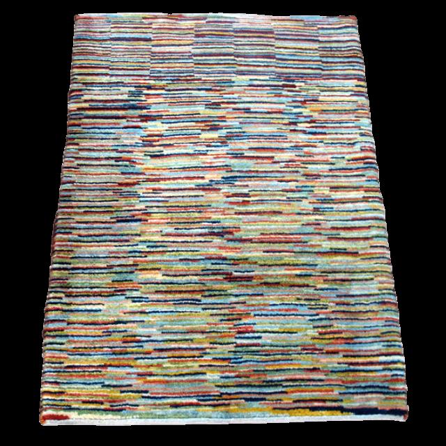 【値下げしました】ギャッベ/アマレ、細かな上質ランク 118×84cm(ZS-1030)
