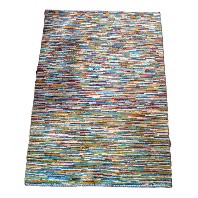 ギャッベ/アマレ、細かな上質ランク 117×79cm(ZS-1035)