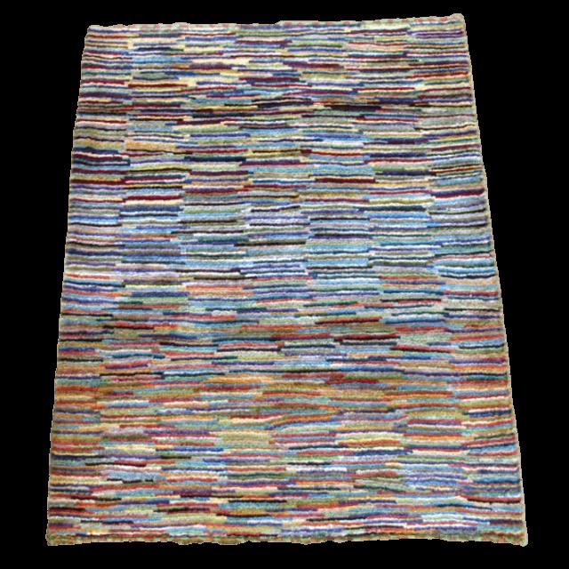 【値下げしました】ギャッベ/アマレ、細かな上質ランク 111×83cm(ZS-1041)