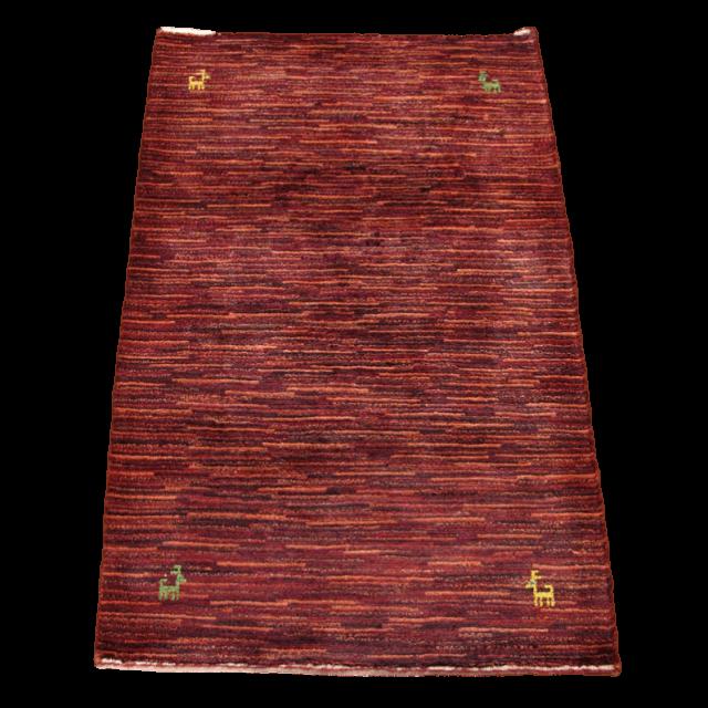 ギャッベ/アマレ、細かな上質ランク 121×80cm(ZS-1174)