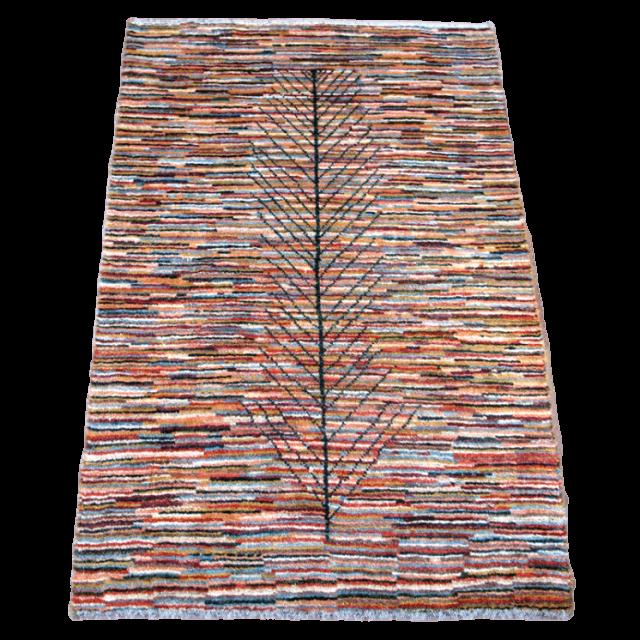 ギャッベ/アマレ、細かな上質ランク 113×77cm(ZS-1208)