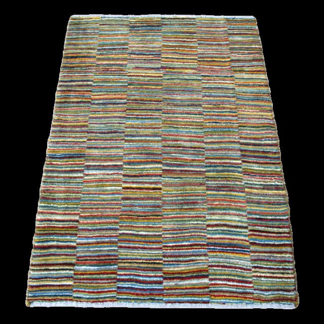 ギャッベ/アマレ、細かな上質ランク 117×83cm(ZS-1210)