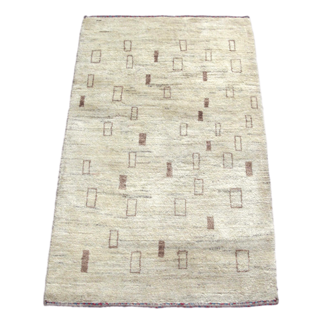 ギャッベ/アマレ、細かな上質ランク 118×86cm(ZS-1238)
