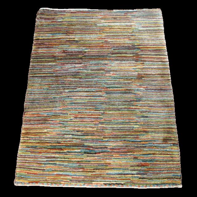【値下げしました】ギャッベ/アマレ、細かな上質ランク 120×84cm(ZS-1271)