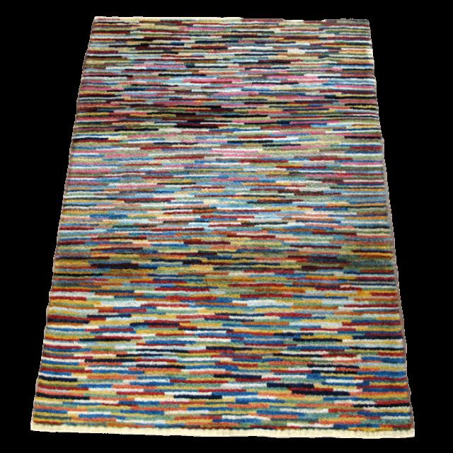 ギャッベ/アマレ、細かな上質ランク 124×83cm(ZS-1290)