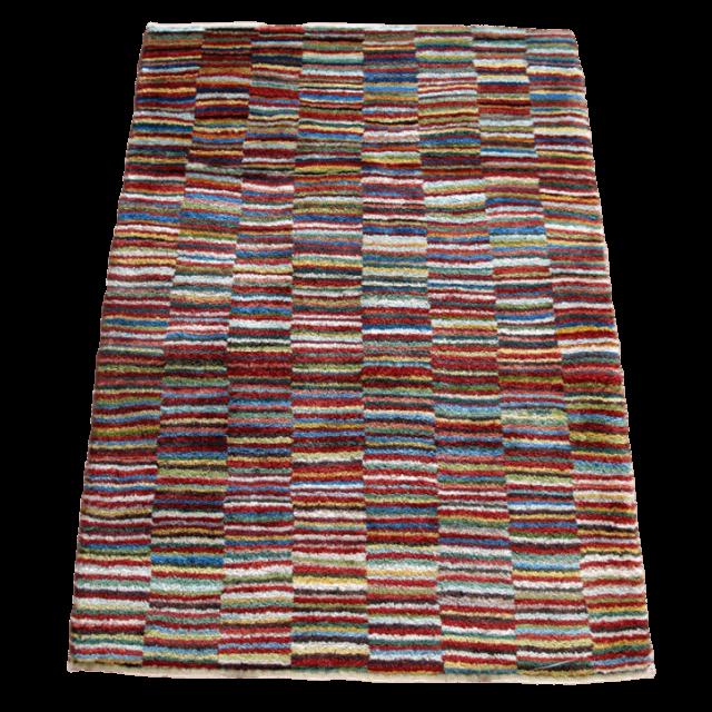 ギャッベ/アマレ、細かな上質ランク 120×87cm(ZS-1292)