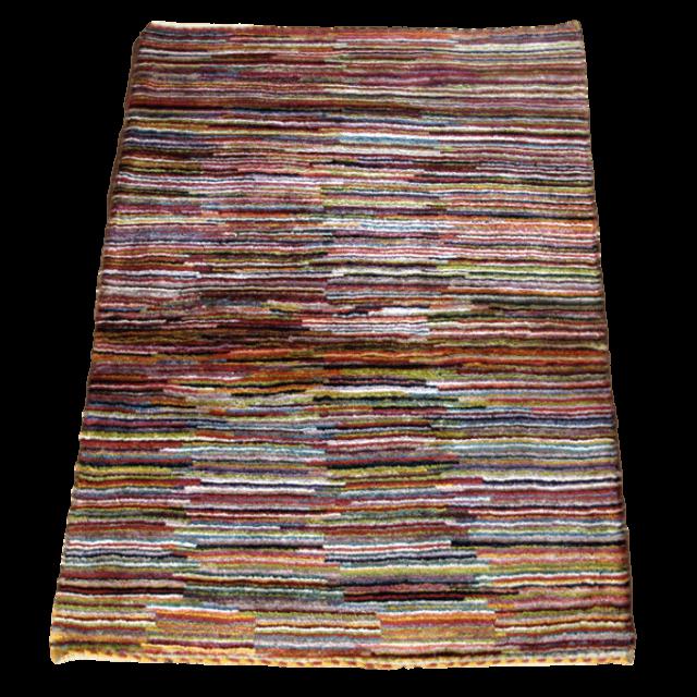 【値下げしました】ギャッベ/アマレ、細かな上質ランク 113×78cm(ZS-1297)