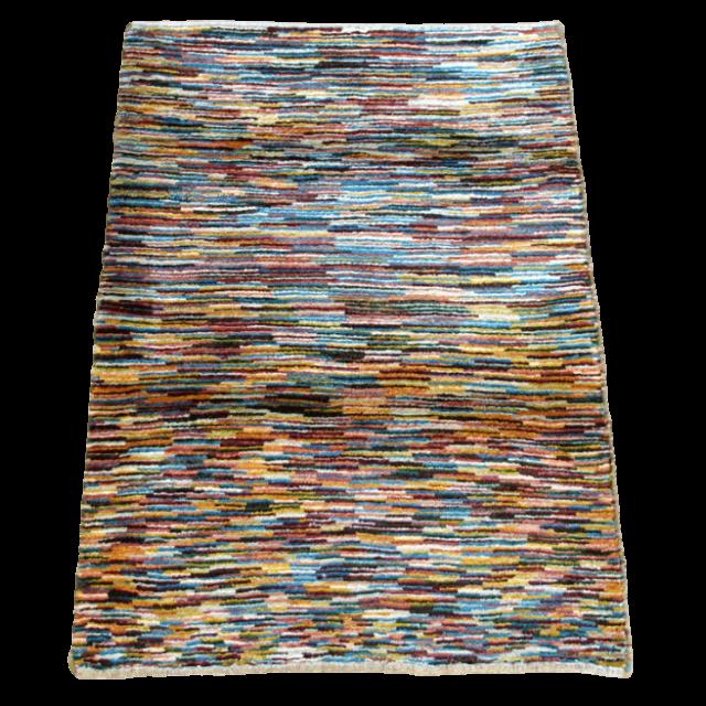 【値下げしました】ギャッベ/アマレ、細かな上質ランク 114×79cm(ZS-1303)