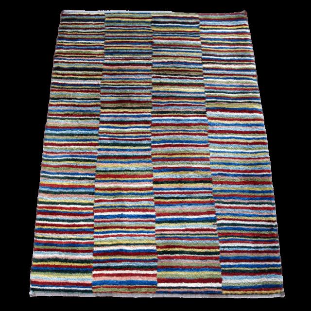 ギャッベ/アマレ、細かな上質ランク 124×88cm(ZS-1307)