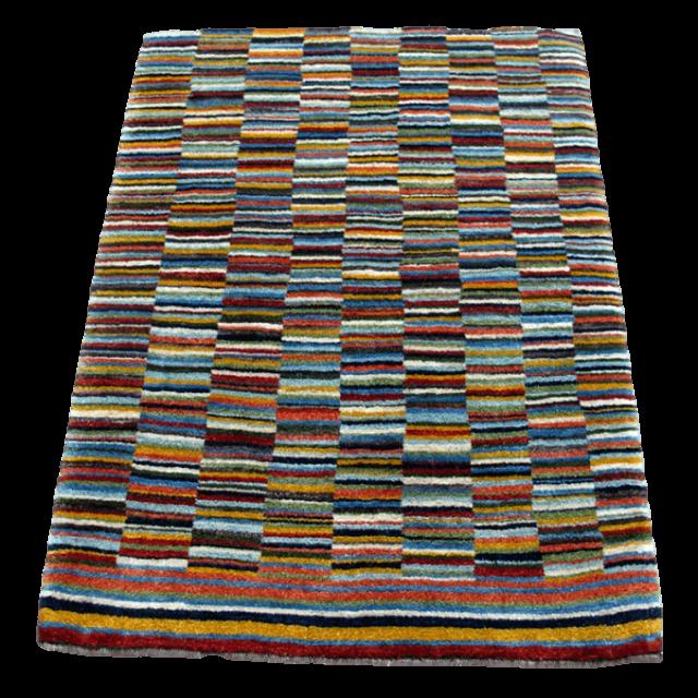 ギャッベ/アマレ、細かな上質ランク 123×91cm(ZS-1309)