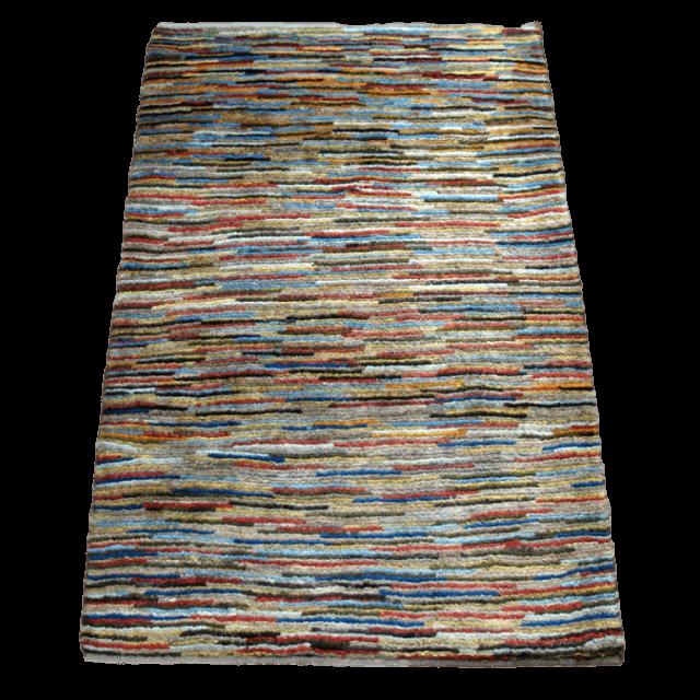 【値下げしました】ギャッベ/アマレ、細かな上質ランク 116×79cm(ZS-1318)