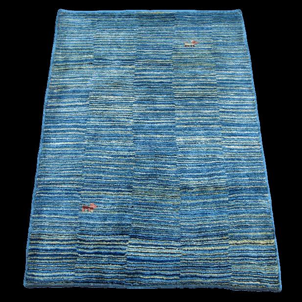 ギャッベ/シェカルー、細かめのしなやかな織 113×81cm(ZS-2117)