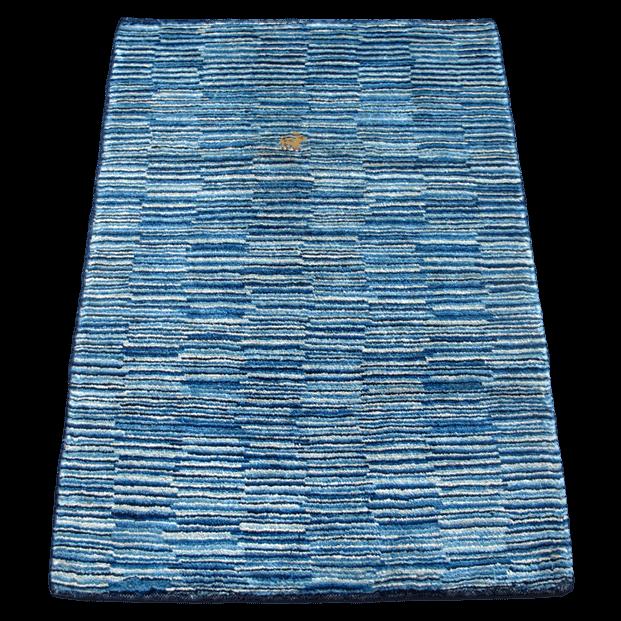 ギャッベ/シェカルー、細かめのしなやかな織 114×83cm(ZS-2130)