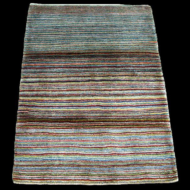 ギャッベ/シェカルー、細かめのしなやかな織 115×86cm(ZS-2158)