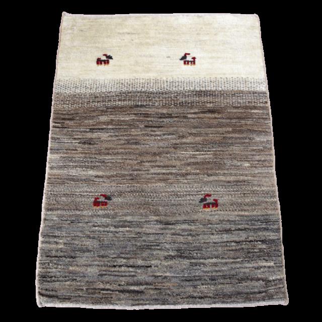 ギャッベ/シェカルー、細かめのしなやかな織 116×76cm(ZS-320)
