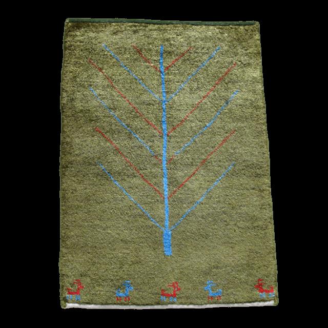 ギャッベ/アマレ、細かな上質ランク 85×60cm(ZSS-774)