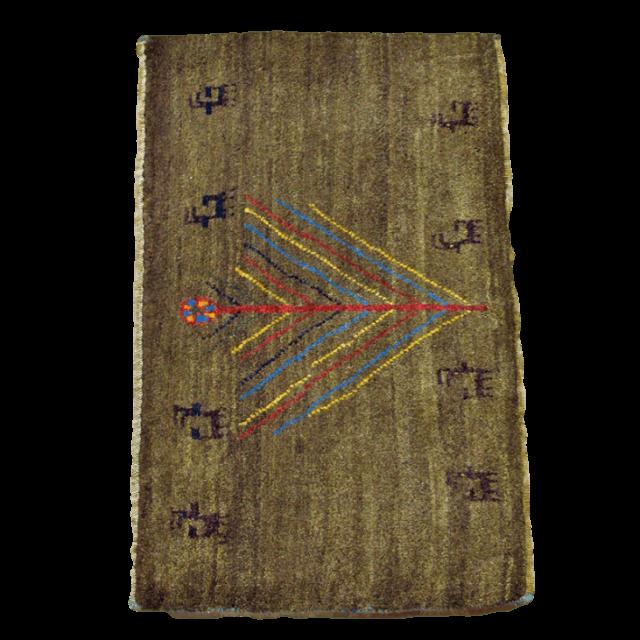 ギャッベ/アマレ、細かな上質ランク 57×89cm(ZSS-780)