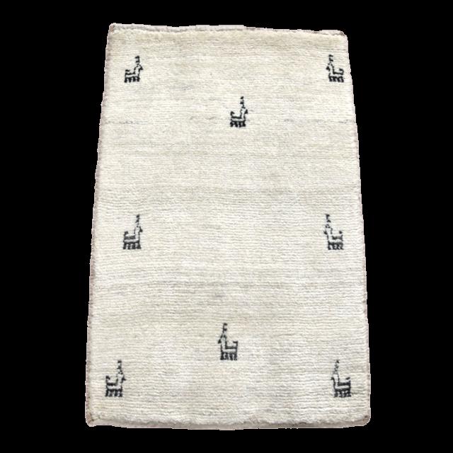 ギャッベ/アマレ、細かな上質ランク 87×57cm(ZSS-835)