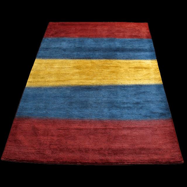 【値下げしました】ギャッベ/シェカルー、細かめのしなやかな織 293×202cm(ZX-257)