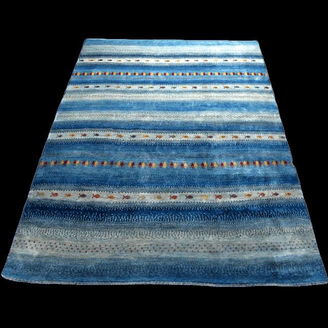 ギャッベ/アマレ、細かな上質ランク 342×248cm(ZX-1507)