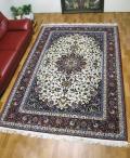 【値下げ】ペルシャ絨毯イスファハン・セーラフィアン 313×210cm(FX-75)
