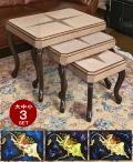 ペルシャ伝統工芸ハンドメイドのサイドテーブル、カフェテーブル