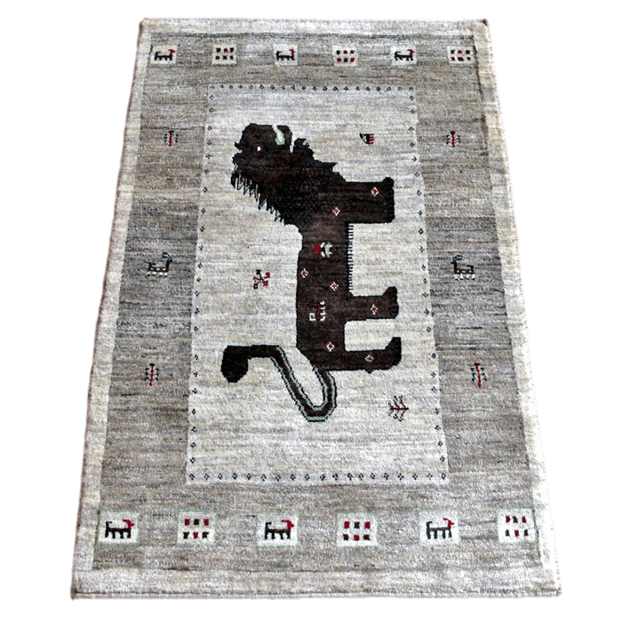 ギャッベ/アマレ、細かな上質ランク 145×95cm(ZM-1531)