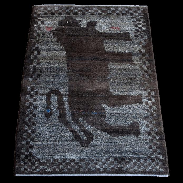 【値下げしました】ギャッベ/アマレ、細かな上質ランク 168×120cm(ZM-1554)
