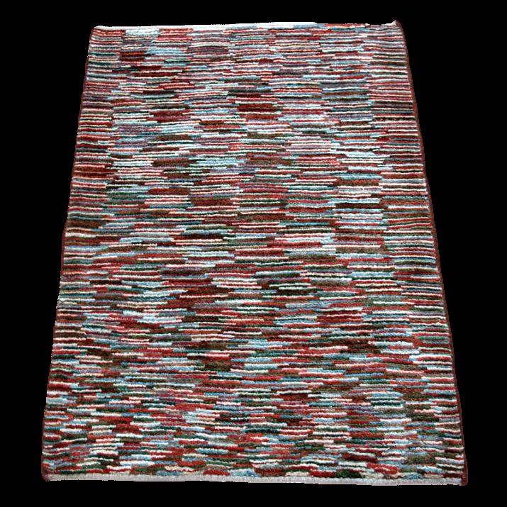 ギャッベ/アマレ、細かな上質ランク 114×84cm(ZS-1252)