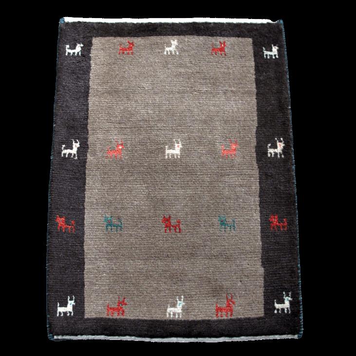 ギャッベ/アマレ、細かな上質ランク 87×62cm(ZSS-894)