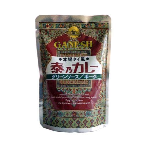 ガネーシャ泰乃カレー グリーンソース