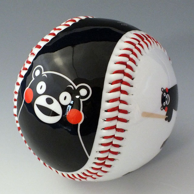 くまモン野球ボール