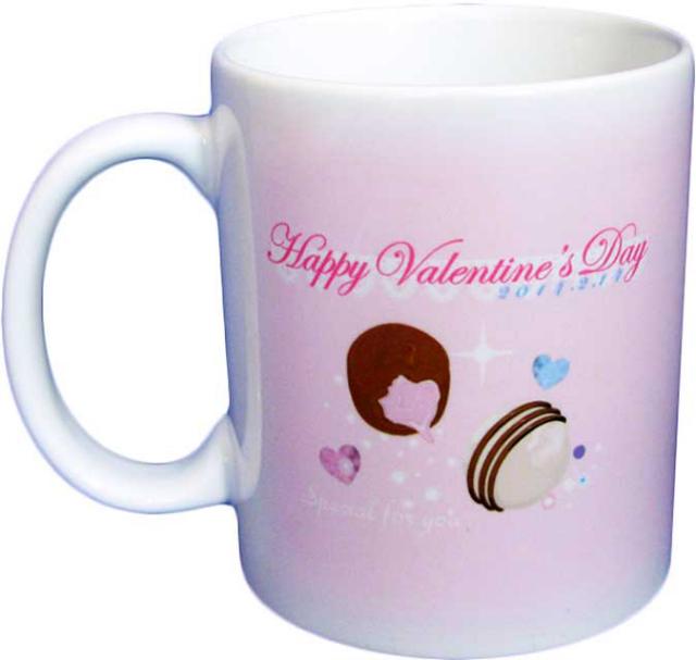 バレンタインマグカップ