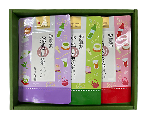 知覧茶 ティーバック3本セット